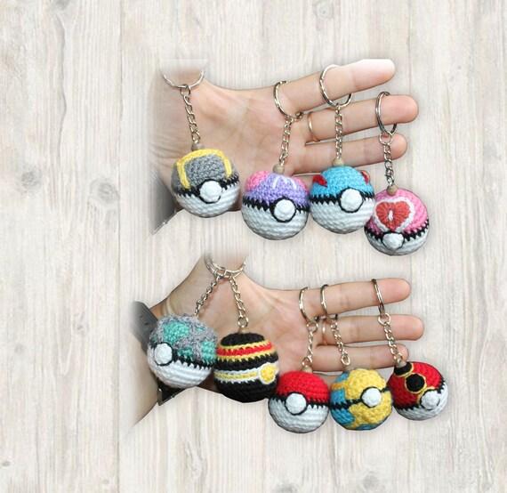 Pokemon Amigurumi Pokeball Crochet Pattern | Häkeln spielzeug ... | 554x570