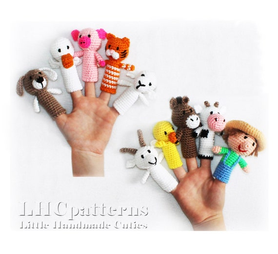 Amigurumi Bunny Finger Puppet Free Pattern – Amigurumi Free ... | 521x570