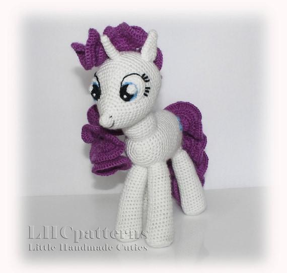 Rarity Inspired Pattern My Little Pony Inspired Pattern Etsy