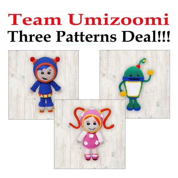 Three Patterns Deal Milli Bot And Geo, Team Umizoomi Toddler Bedding