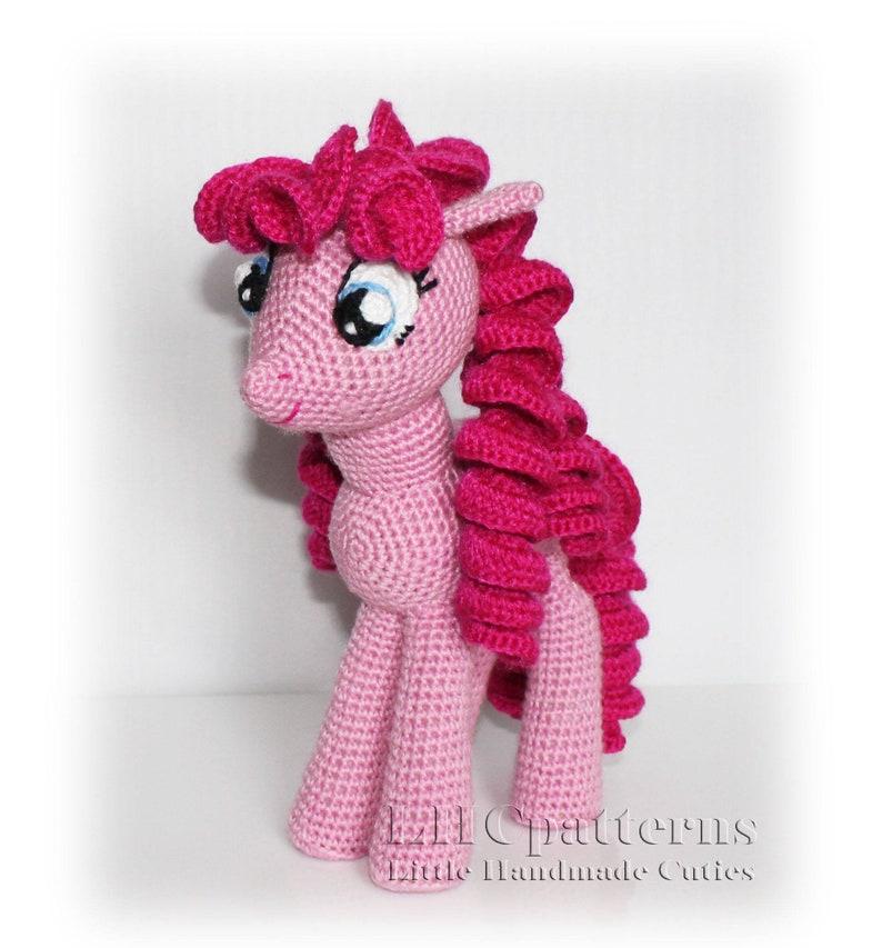 Pinkie Pie Inspired Pattern My Little Pony Inspired Pattern Etsy