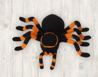 Crochet Spider Pattern, Crochet Halloween Pattern, Spider Stuffed Toy Pattern, Happy Halloween Gift, PDF