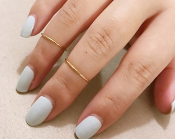 Mid Finger Ring / Midi, Thin, Simple / Anabel Nove
