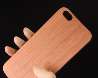 Iphone 6/6s plus Cherry Wood Phone Case - slim durable case - also fits iPhone 7 plus