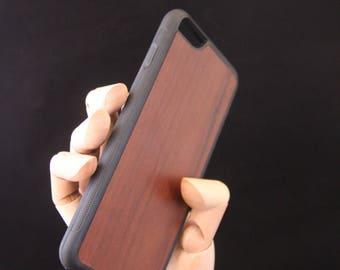 Iphone 6/6s plus Walnut Wood Phone Case - slim durable case - also fits iPhone 7 plus