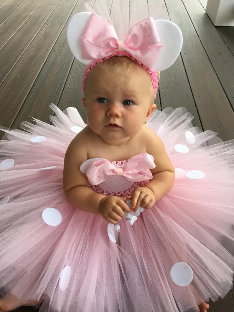 036511864 Princesa Minnie Mouse inspirado Vestido de Tutu traje de