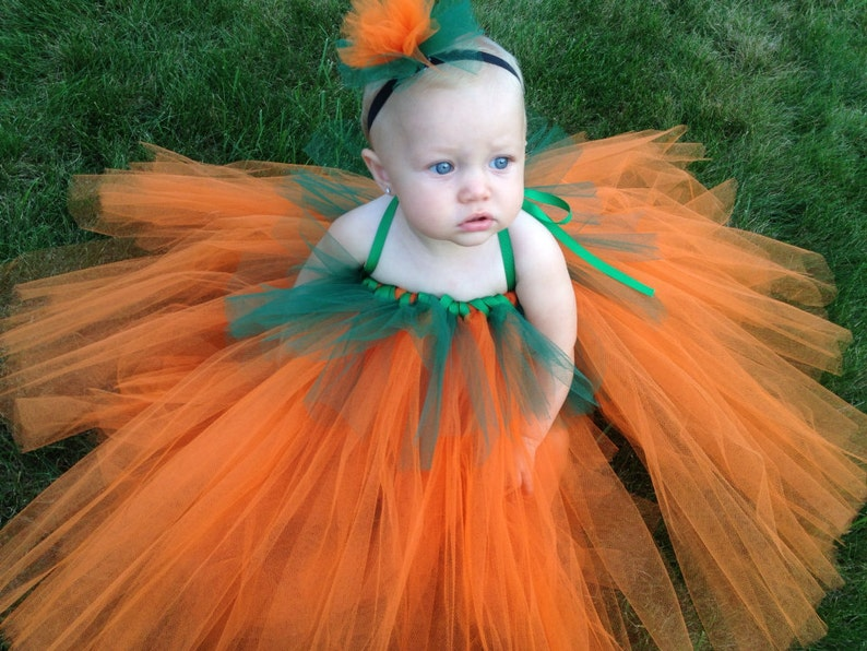af53dda8d244 Halloween Delivery Guaranteed Pumpkin Tutu Dress Costume | Etsy