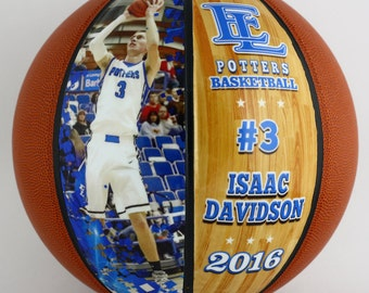 6ddd53d02fb Custom Mini Basketball-Perfect For High School Senior Gift, Athletic  Achievement Awards, Coaches Gift, Wedding Parties, Bar and Bat Mitzvahs