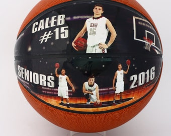 5634ccf3fb8 Custom Made Mini Basketball-The Perfect High School Senior Gift, Athletic  Achievement Awards, Coaches Gift, Senior Night, Basketball Gift