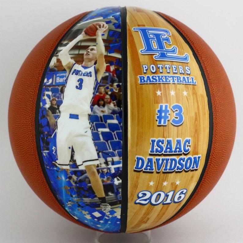 45911b48135 Custom Made Basketball-Senior Basketball Gift Athletic