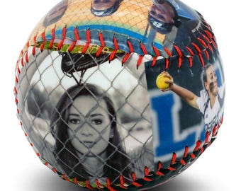 Personalized Softball- Senior Softball Gift, Softball Award, Softball Banquet, Coaches Gifts, Senior Night, High School Senior Softball Gift