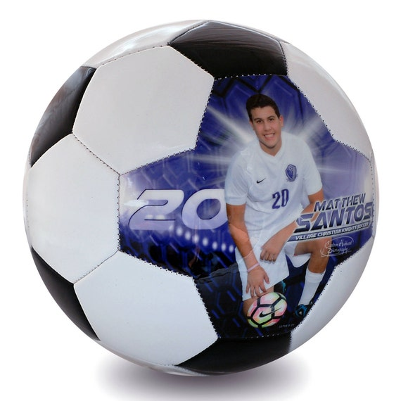 Custom Made Soccer Ball Soccer Senior Night Gift Soccer Etsy