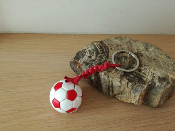 Personalised Olympiacos Football Soccer T-Shirt Key Ring