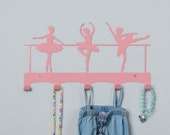 Ballet dancers coat rack