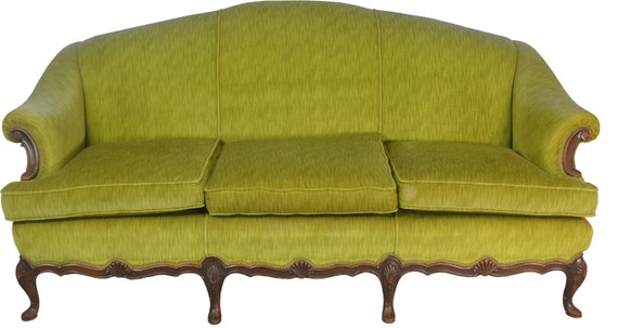 Terrific 17701 French Style Upholstered 1930S Sofa Dailytribune Chair Design For Home Dailytribuneorg