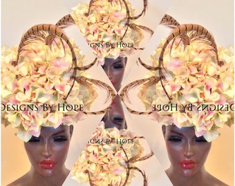 e4808505cf8 Avant Garde Haute Couture Hat Designs By HOPE© Millinery Accessories  Special Occasion