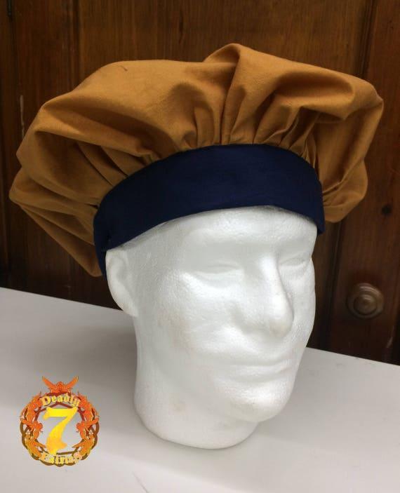 a2bdb688e1978 Renaissance Muffin Cap Bronze Navy