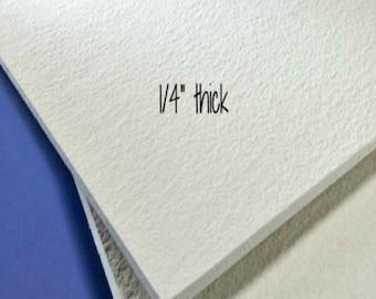 """12x12 FiberFrax Fiber Board 1/4"""" Thick Kiln Fusing Mold Making Supplies"""