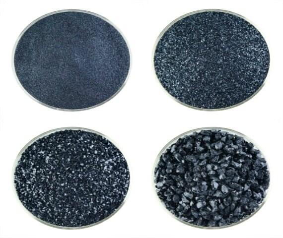 1 Lb Aventurine Blue Powder Frit 90 Coe