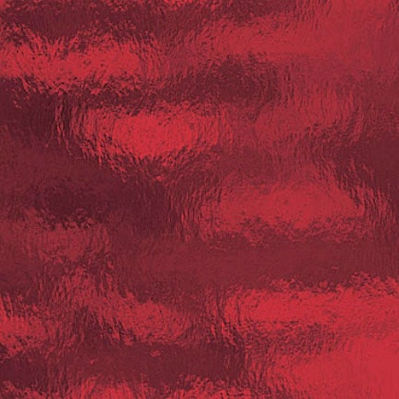 Buy Stained Glass Sheets.Coe 96 Spectrum Ruby Red Rough Rolled Cathedral Fusible Stained Glass Sheet