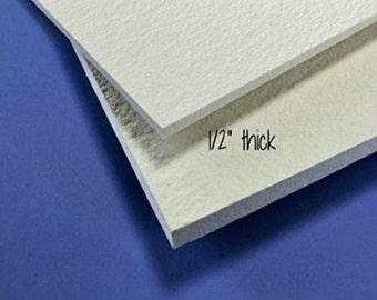 12x12  FiberFrax Fiber Board 1/2 Thick Kiln Fusing Mold Making Supplies