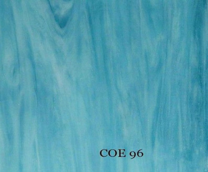 """3mm CLEAR 1 1//4/"""" x 1 1//4/"""" SQUARES OF BULLSEYE SHEET GLASS 90 COE TESTED FUSIBLE"""