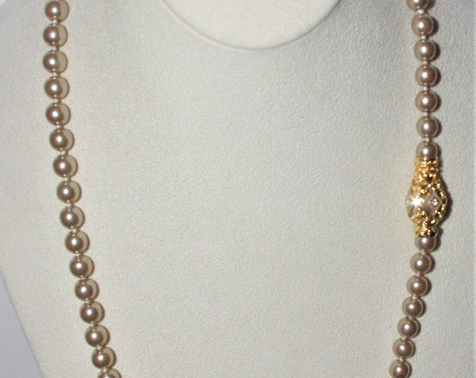 Joan Rivers Gray Pearl Necklace - S3004