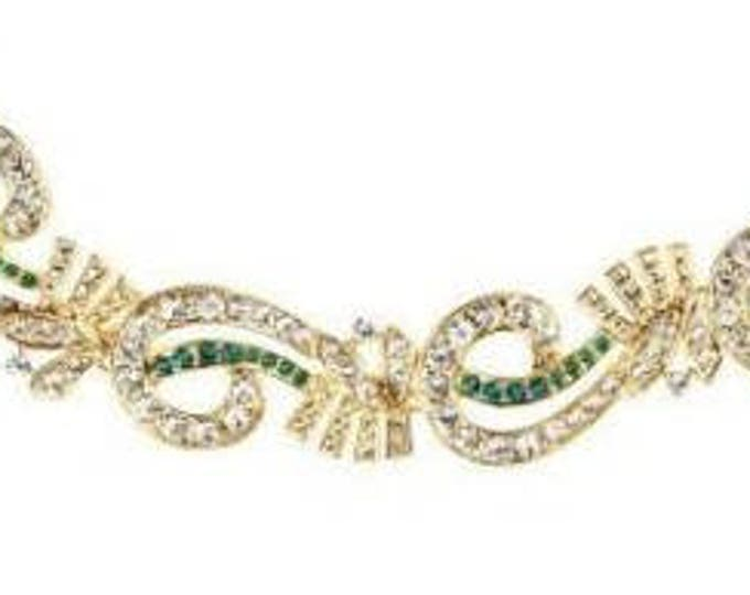 Jackie Kennedy Emerald Bracelet Sizes 7 and 8 - #94