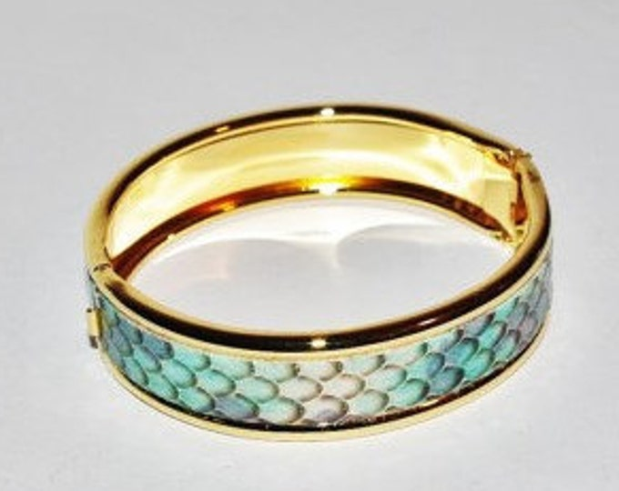 Joan Rivers Bangle - Python Snake Pattern  - S2123