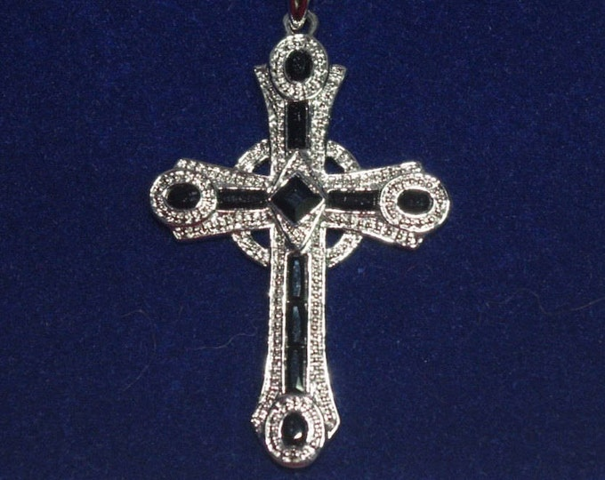 Jackie Kennedy Celtic Cross Necklace with Certificate - TMS1