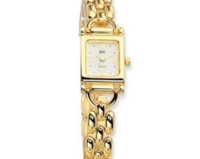 Jackie Kennedy Gold Watch Size 7.5 with New Battery and Certificate