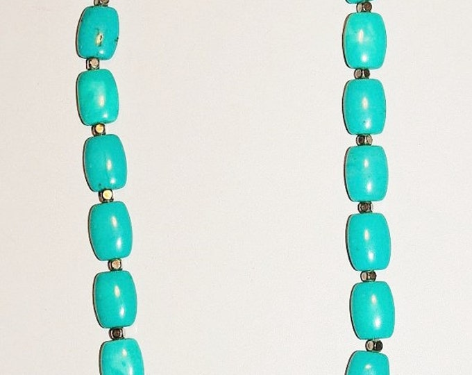 925 Natural Turquoise Necklace - S2376