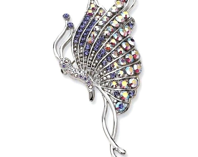 Jackie Kennedy Butterfly Brooch with Certificate - 47