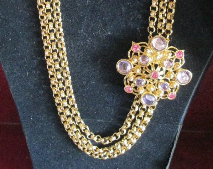 Jose Barrera Marbella Gold Necklace - S1836