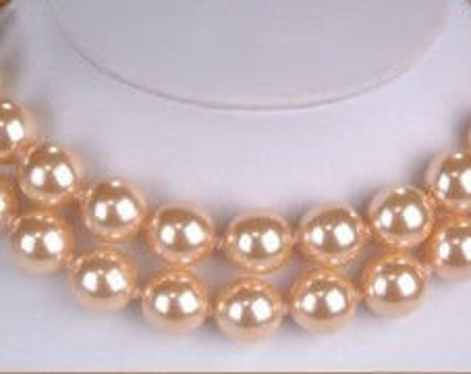 Joan Rivers Pink Pearl Necklace Set - S3064