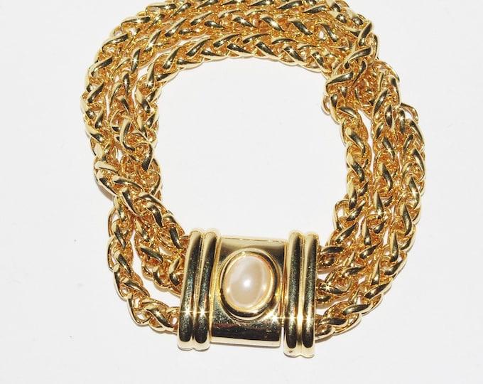 Joan Rivers Gold Chain Bracelet - S1532