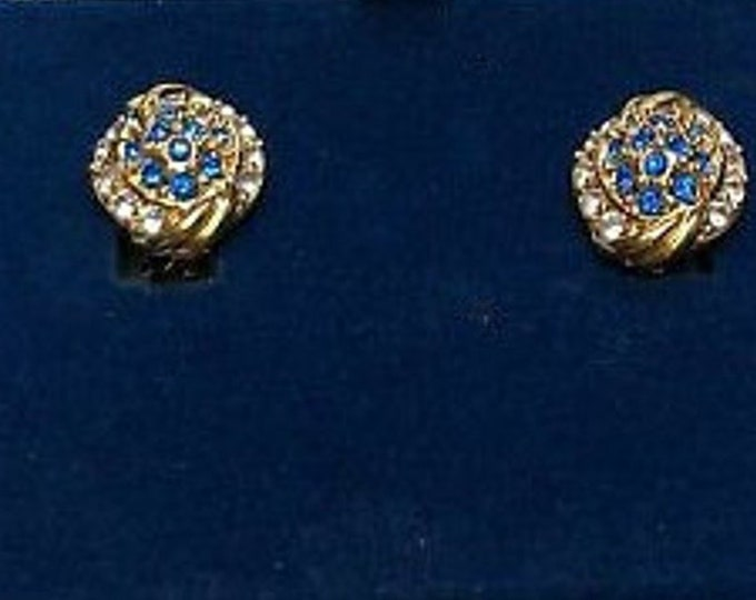 RESERVED FOR RENEE - Jackie Kennedy Sapphire Clip On Earrings with Certificate - 13
