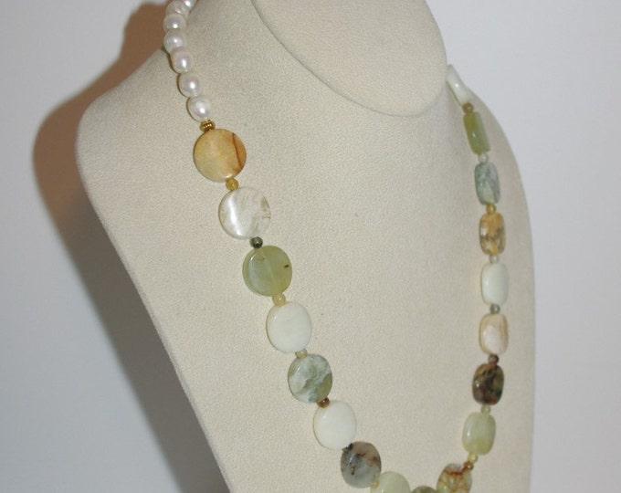 Jade Gemstone Necklace Set - S183