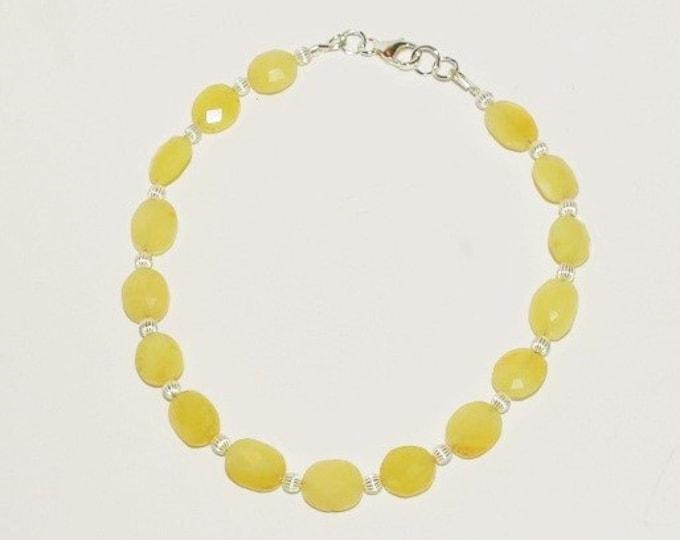 925 Yellow Opal Bracelet - S2370
