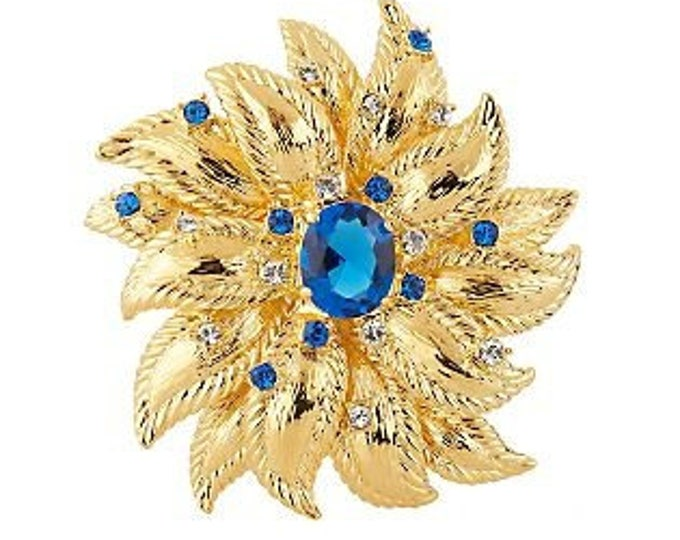 Jackie Kennedy Cornflower Brooch with Certificate - 36
