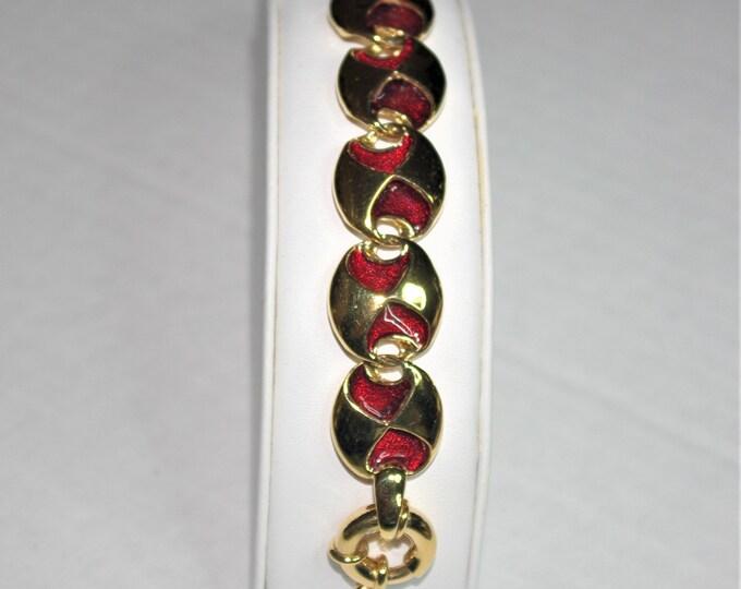 Jackie Kennedy Reversible Bracelet Size 7.5 with Certificate - 67