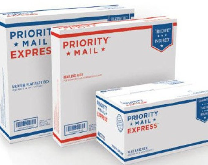 Priority or Express Mail Upgrade for U.S. Customers