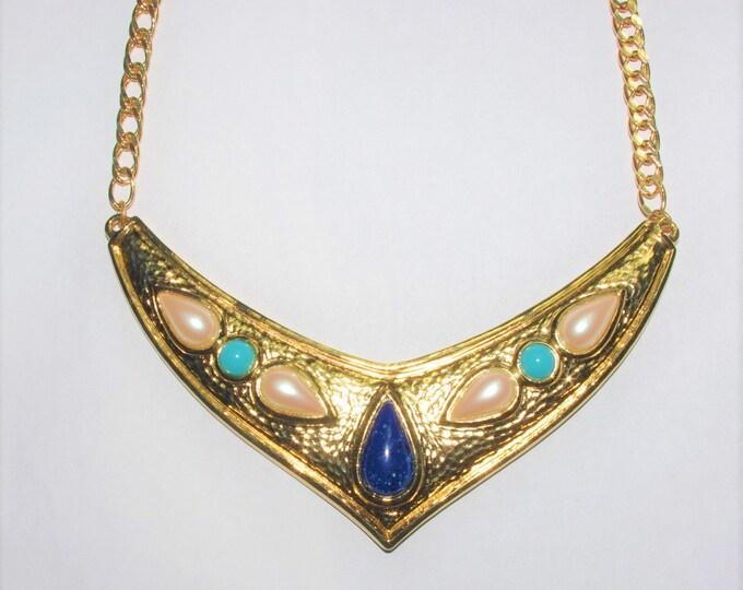 Avon Venetian Style Necklace Set -  BOOK PIECES - S3065