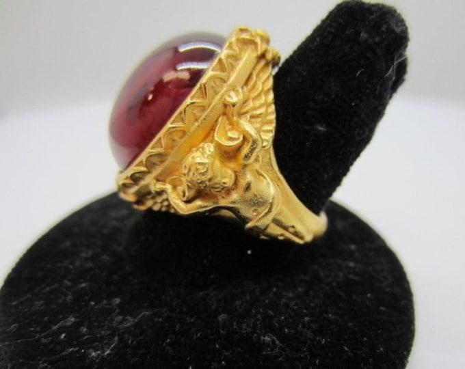 Elizabeth Taylor Cherub Ring Size 5 - S3035