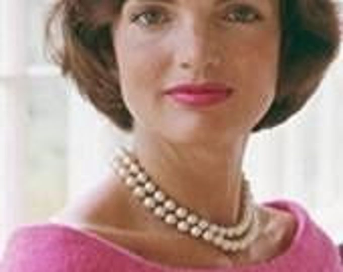 Jackie Kennedy Pearl Necklace - 2 Strands  #226h