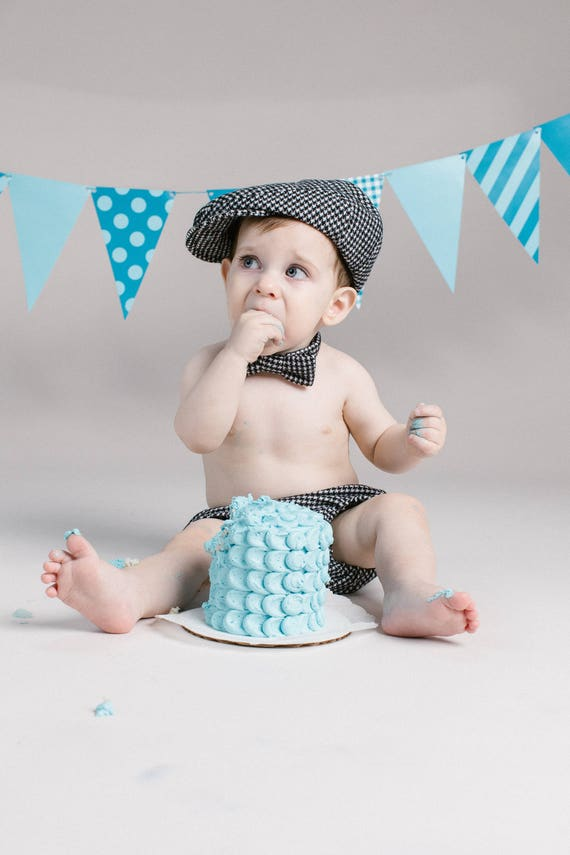 baby boy first birthday outfit boy baby houndstooth wool etsy