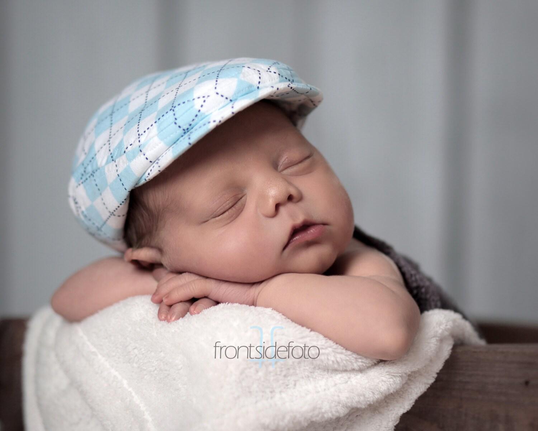 c725e9adfd2 Newborn hat boy newborn baby hats boy baby newsboy hat baby