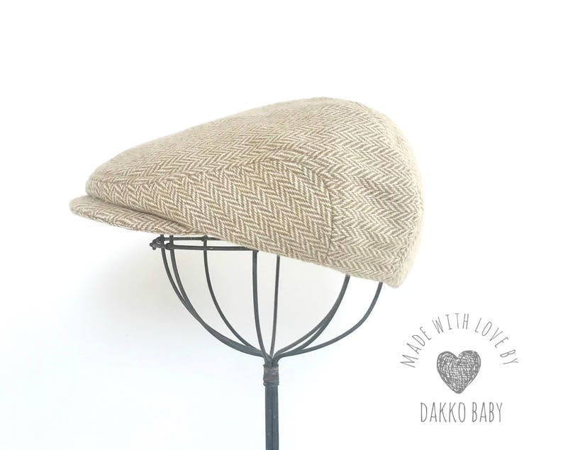 bbe236077bac5 Winter baby hats for boys wool newsboy hat Khaki   Beige