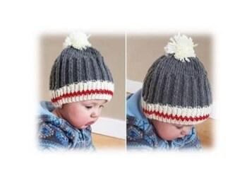 Classic Work Sock Baby Toque Knitting Pattern (Digital Copy) 1b41a1af5a7