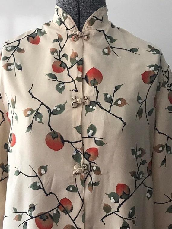Vintage Japanese Silk Robe Jacket